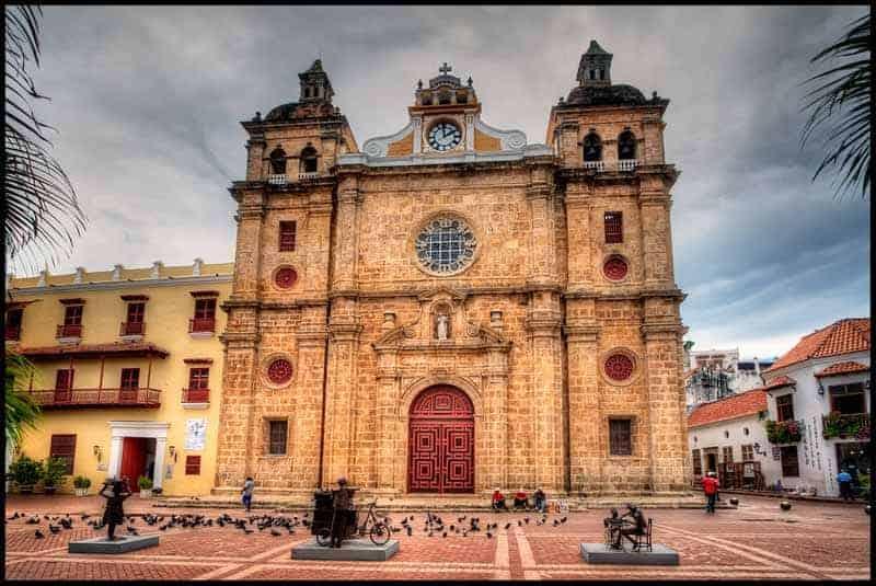 Documentos necesarios para casarse en Colombia con un extranjero. San Pedro Claver, Cartagena.