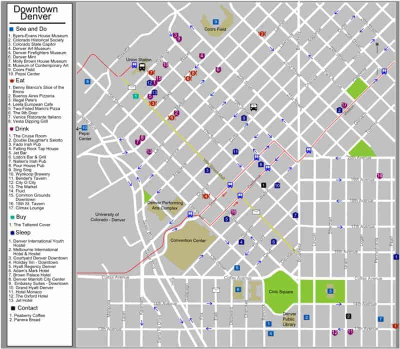downtown-denver-map