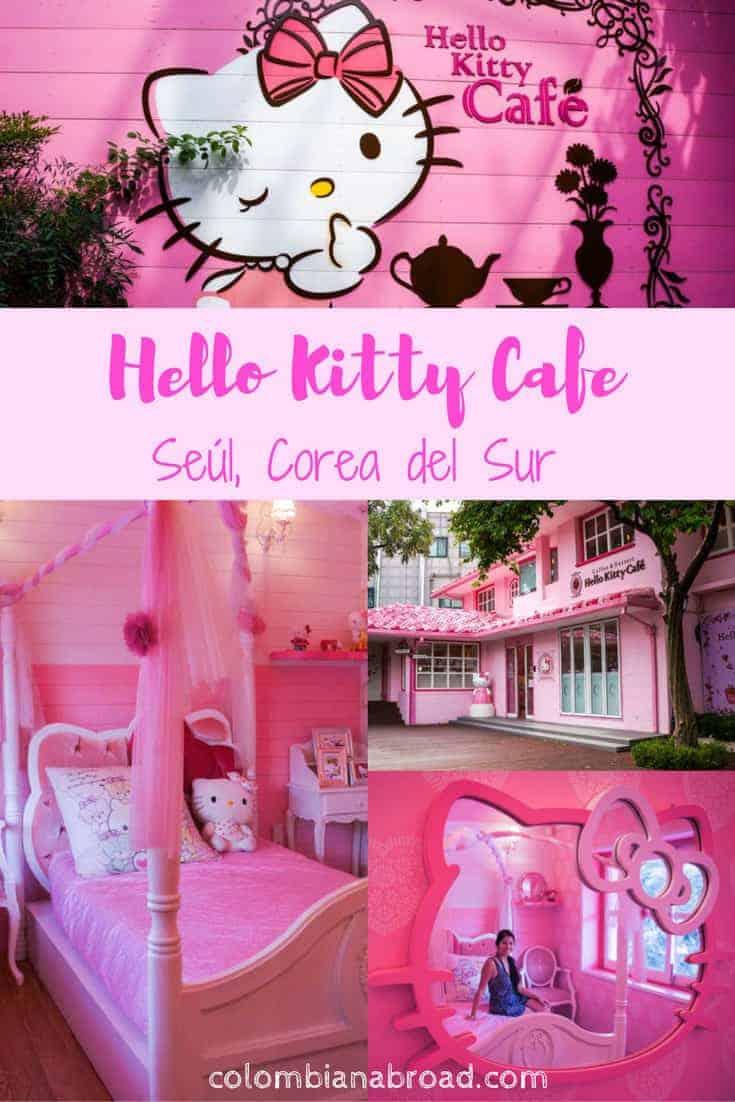 Hello Kitty Cafe, ¡el mundo rosado de Seúl! No te quedes sin visitar este café ubicado en el vibrante barrio de Hongdae.