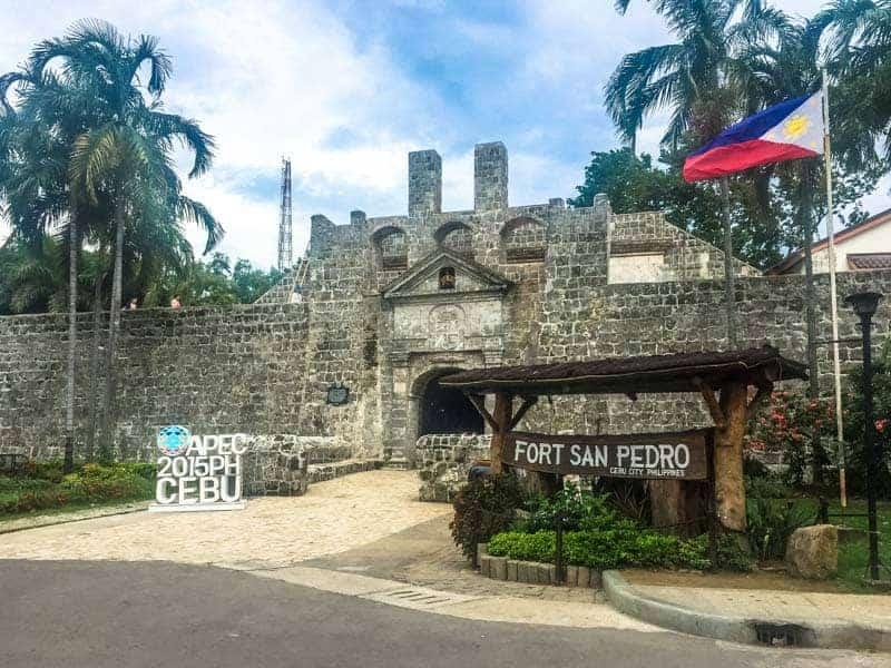 Fortaleza en Filipinas