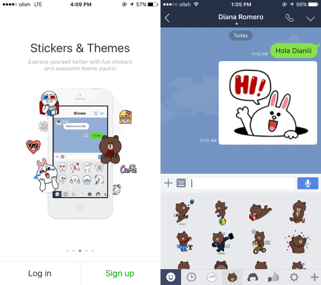 line-stickers