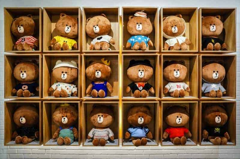 line-tienda-seul-wall-brown