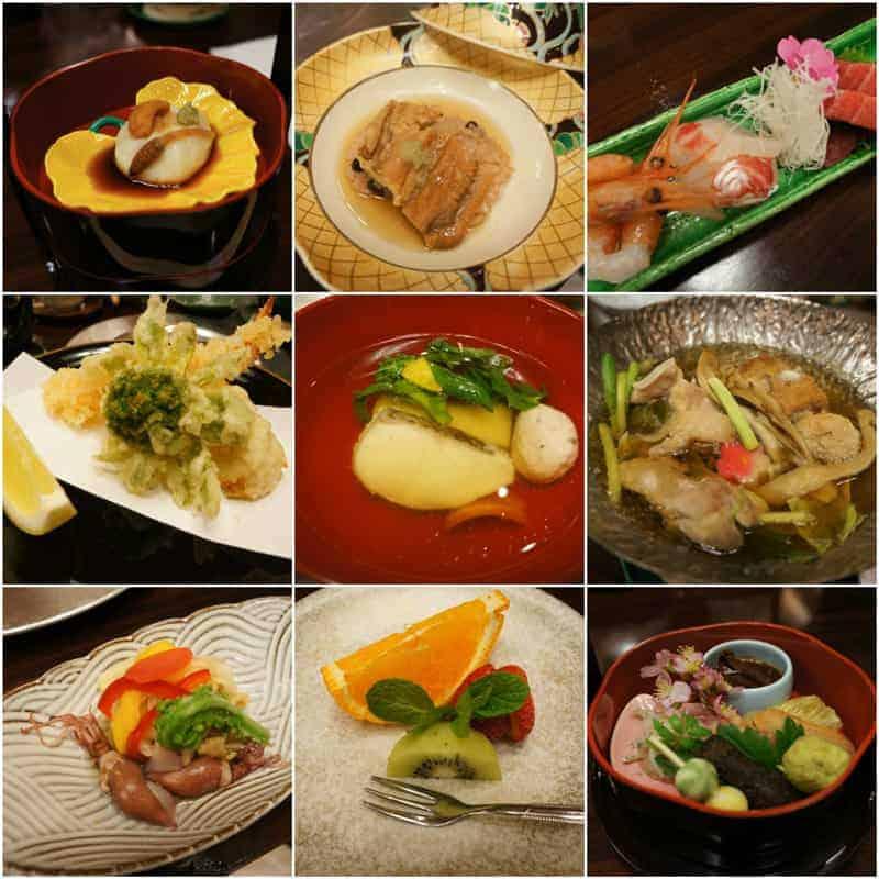 ryokan-kaiseki-collage