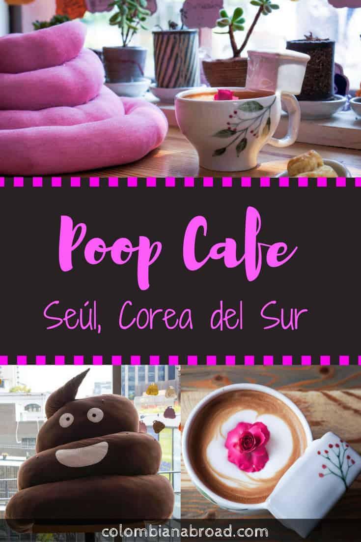 ¿Sabías que en Seúl hay un café del popó? Una temática muy bizarra. ¡Míralo acá!