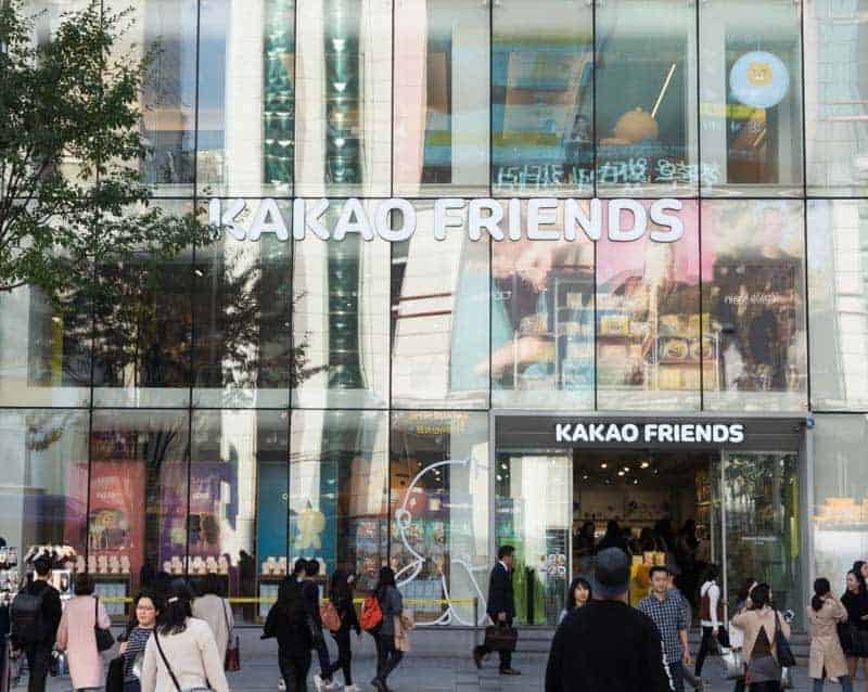 Kakao Friends Gangnam