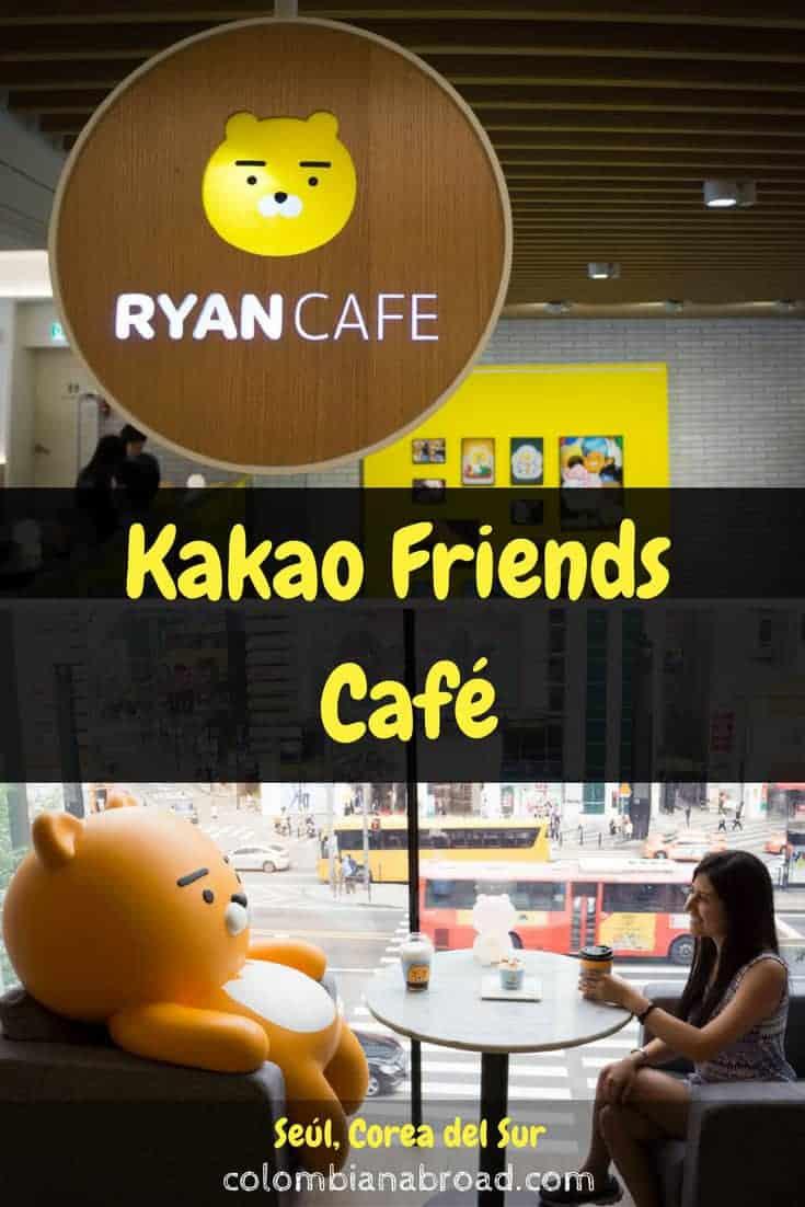 Ryan Café es el café temático de los Kakao Friends. ¡Visítalo en Gangnam!