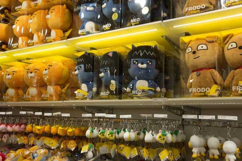 Tienda de Kakao Friends en Seúl, Gangnam