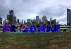 Hello Brisbane! Its good to see you australiantrip viewsofbrisbane