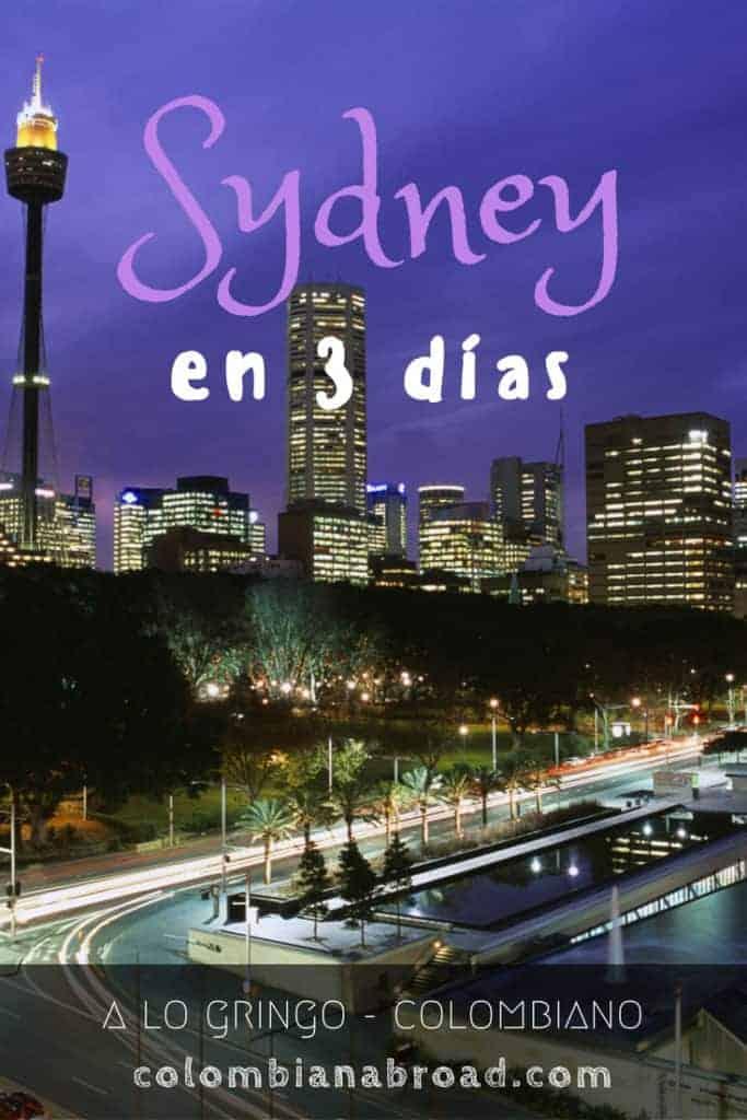 3 días en Sydney con retoque gringo y colombiano