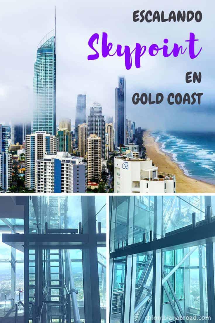 Cuando estés de visita en Surfers Paradise, Gold Coast, ¡no te quedes sin subir al Skypoint de la torre Q1!