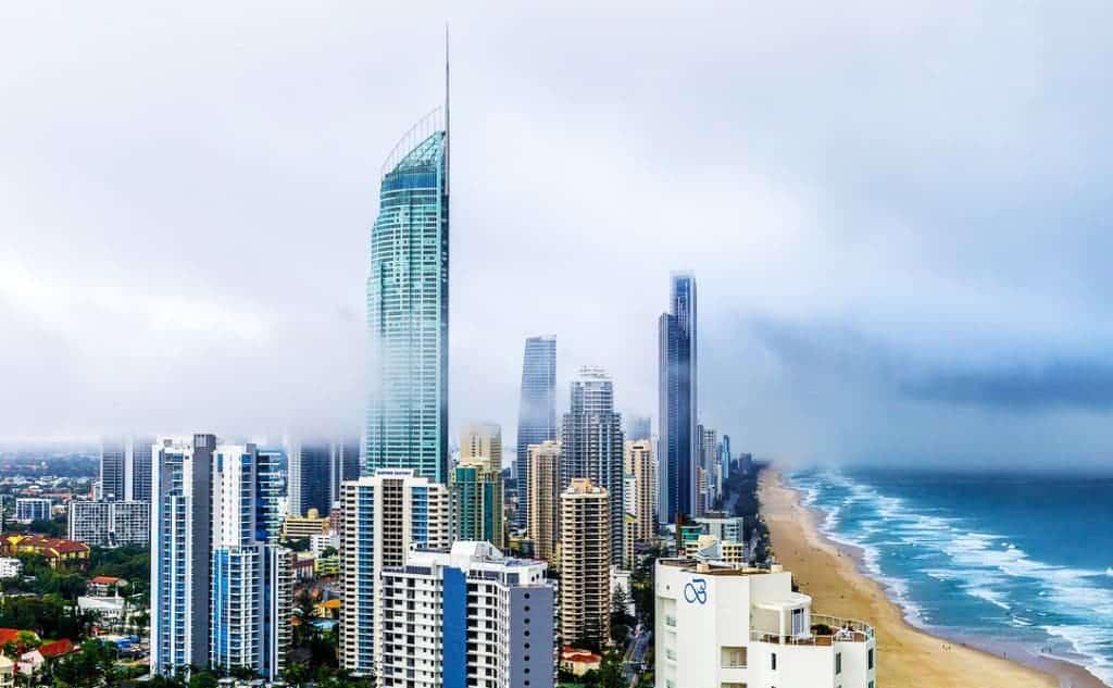 Cuando estés de visita en Surfers Paradise, Gold Coast, no te quedes sin subir al Skypoint de la torre Q1