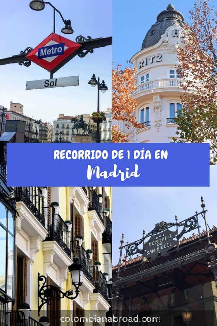 Recorrer Madrid en 1 día es posible. Aquí te comparto este itinerario que incluye los highlights de esta capital española.
