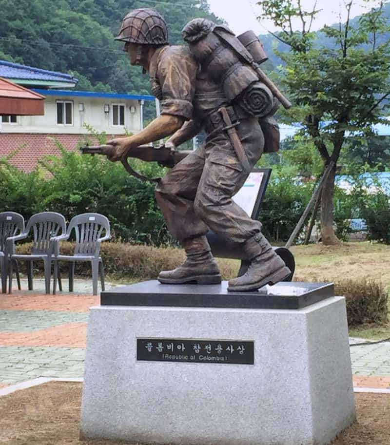 Colombia en Hwacheon, Corea