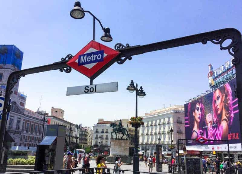 Itinerario de 1 día en Madrid Puerta del Sol