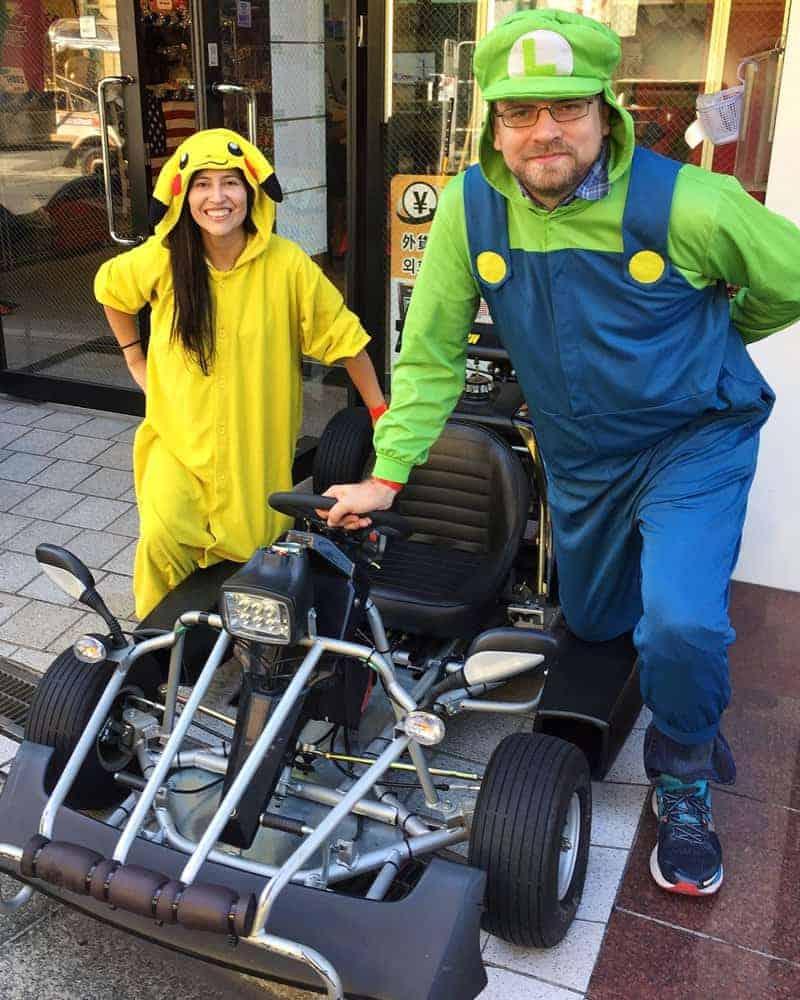 Solo en Tokio podrás montar en Mario Kart mientras recorres sus calles