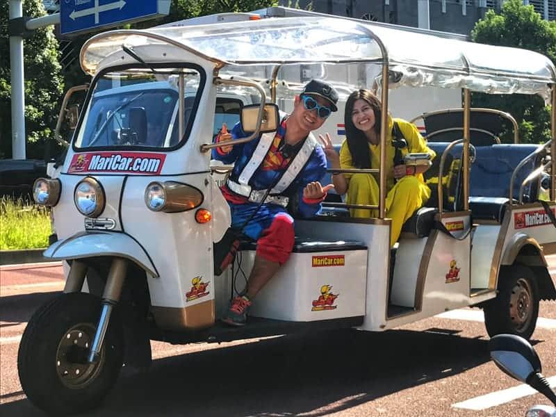 Descubre las calles de Tokio montado en Mario Kart