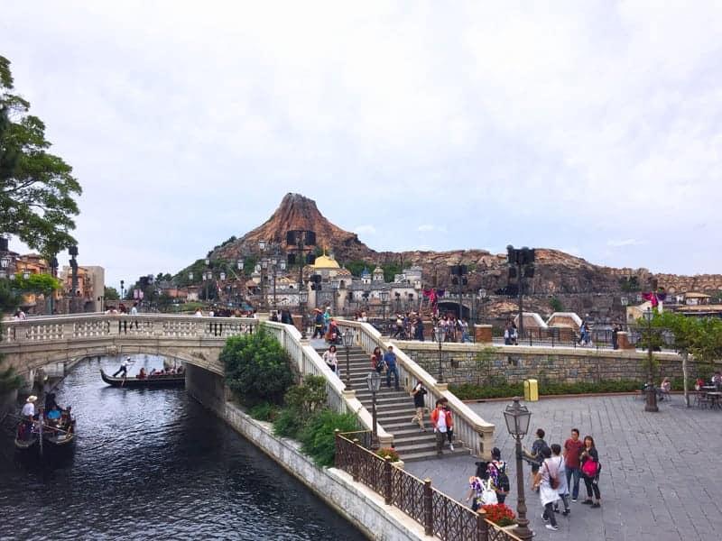 Tokyo DisneySea es el único parque Disney con temática náutica