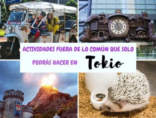 Estas 5 actividades solo podrás hacerlas en la ciudad de Tokio. ¡anímate a hacerlas todas!