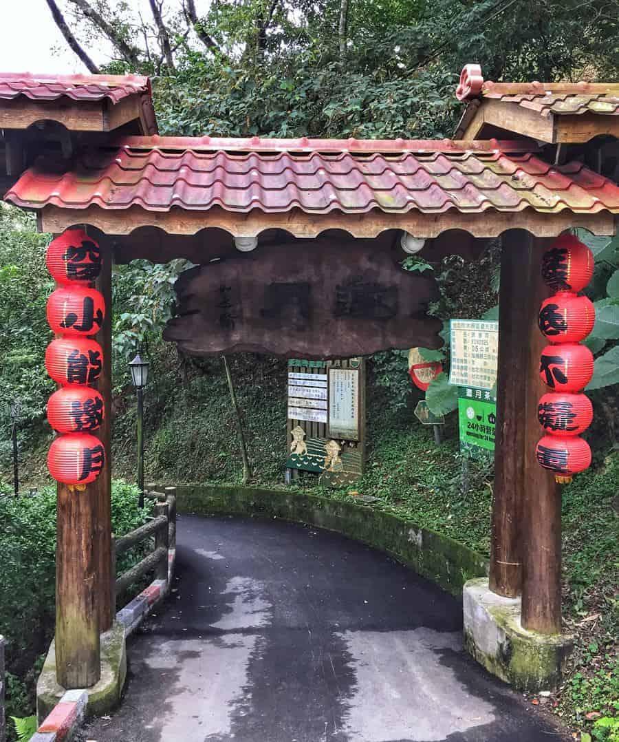 Maokong desde Tapei
