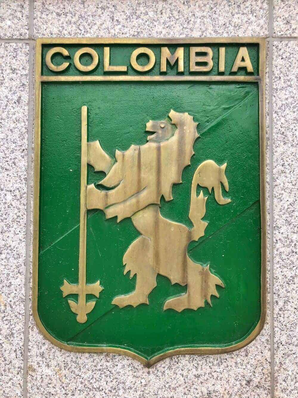 Escudo Batallón Colombia