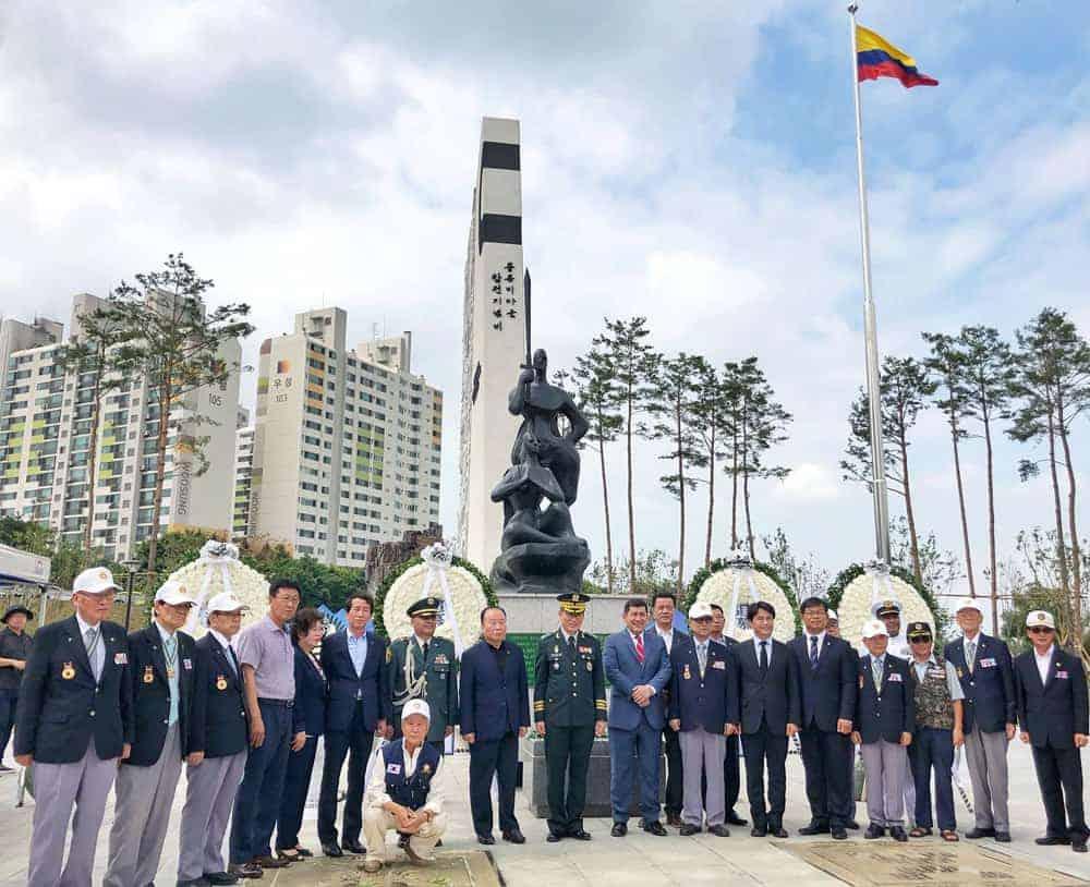 Colombia en Corea