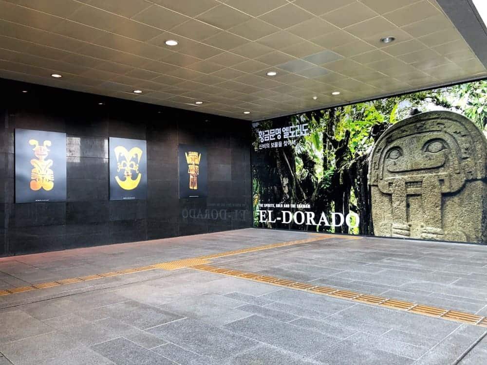 Por primera vez, se ha traído una exhibición especial del Museo del Oro desde Colombia a Corea estrechando lazos culturales entre ambos países.