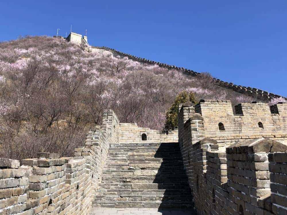 Itinerario en China Muralla China