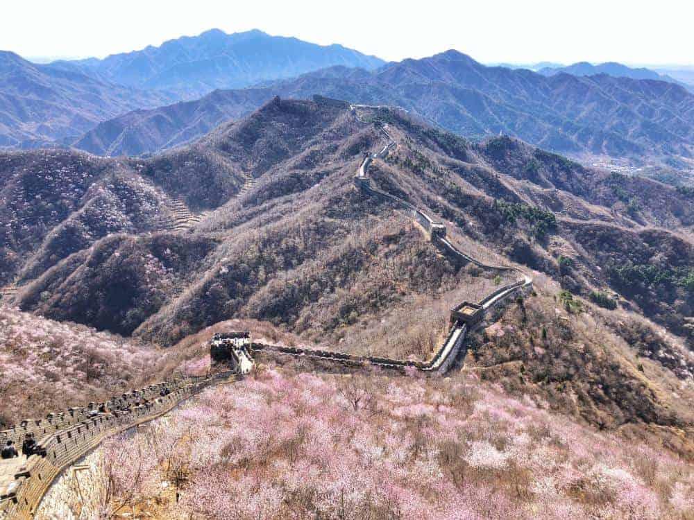 Itinerario en China Mutianyu