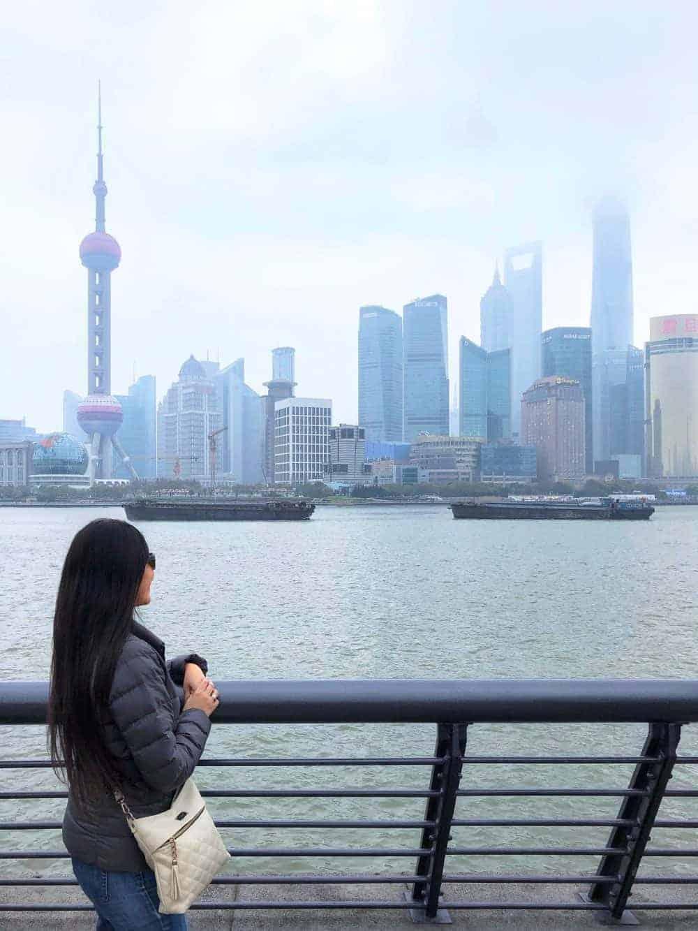 Itinerario en China Bund
