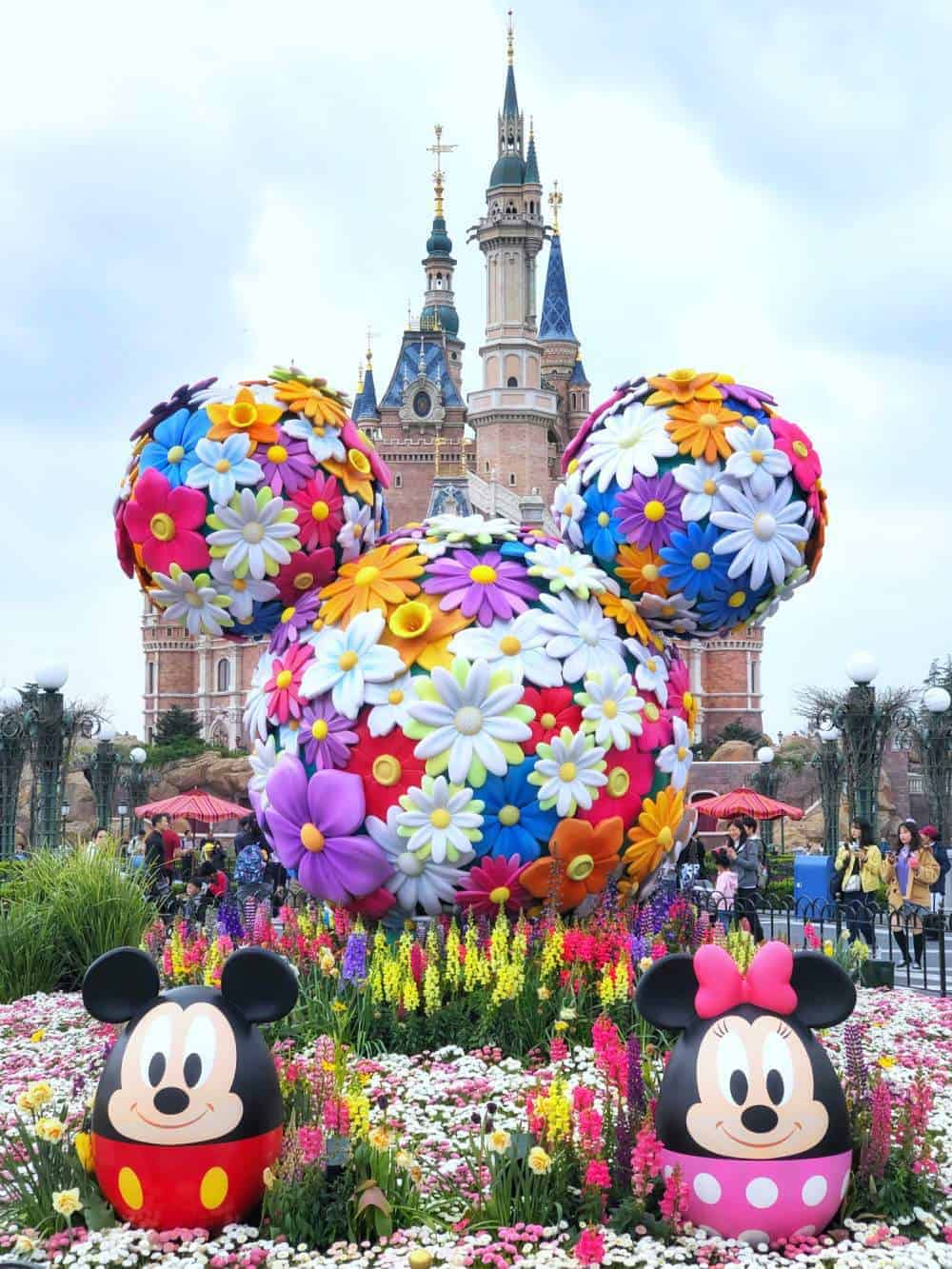 itinerario en China Shanghai Disneyland
