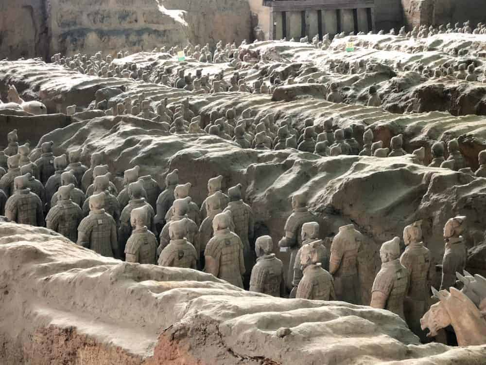 Itinerario en China Guerreros de Terracota