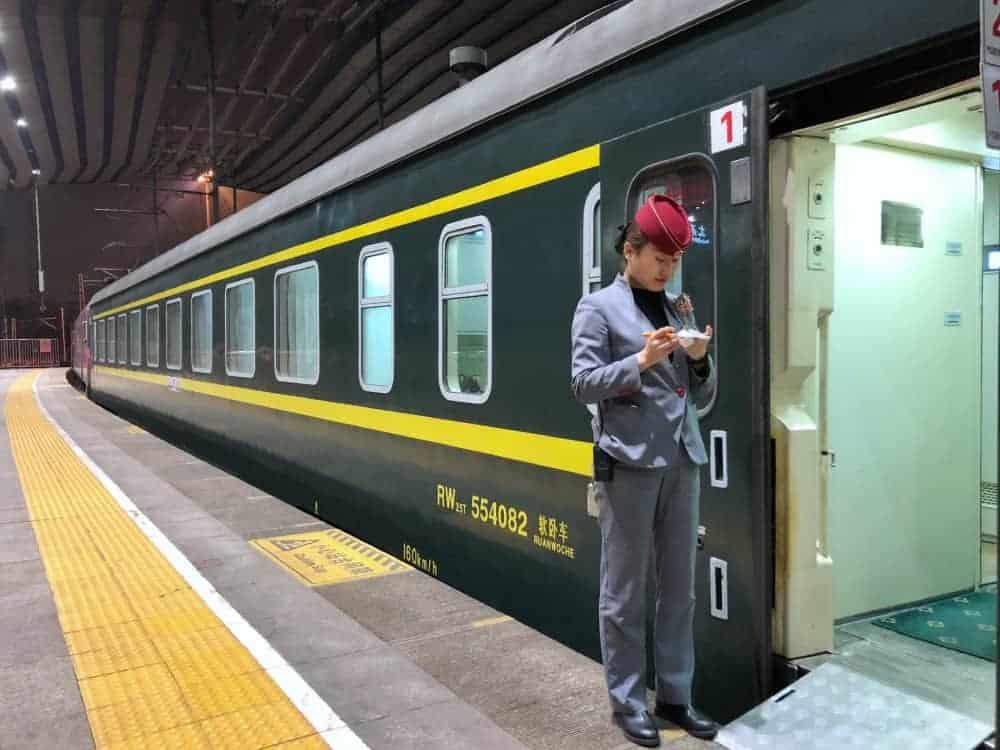 Itinerario en China tren