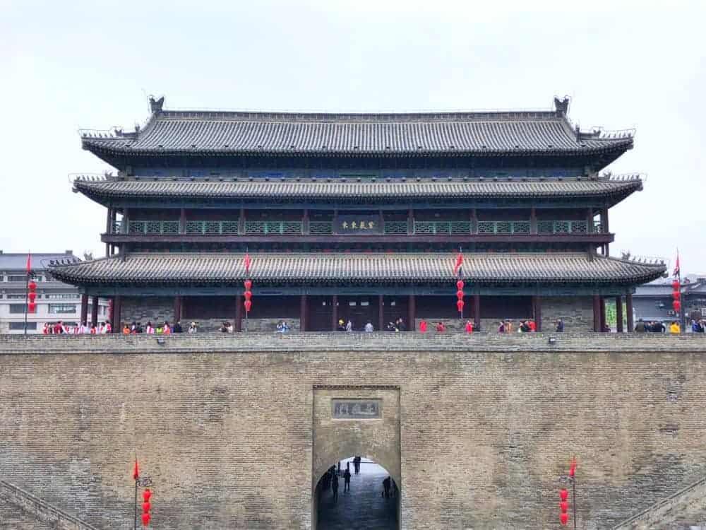 Itinerario en China Xian