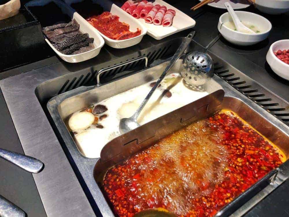 Itinerario en China Hot Pot
