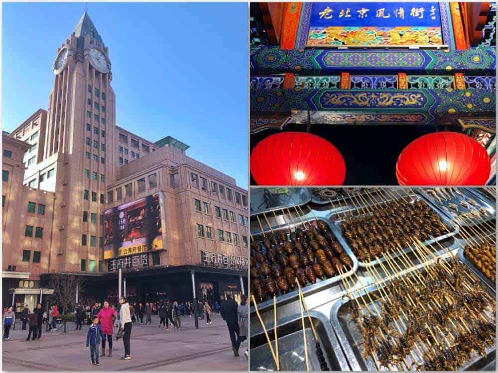 Itinerario en China Wanfujing