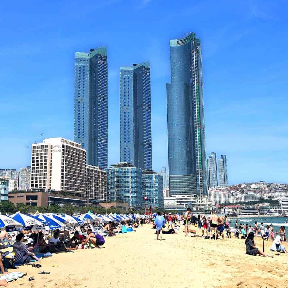 Playa Haeundae, Busan