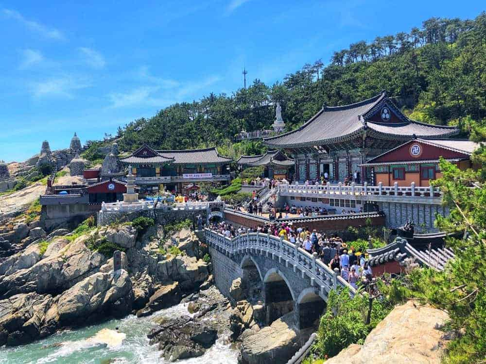 Haedong Yonggungsa Temple en Busan