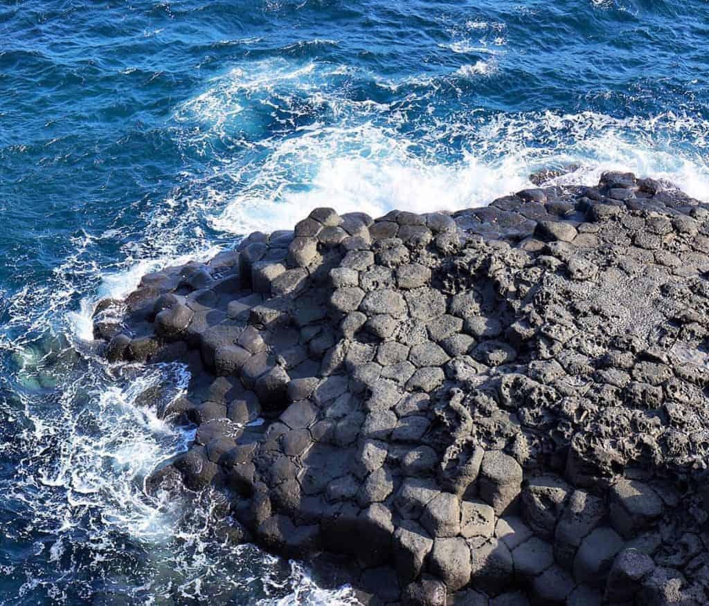 Jusangjeolli Cliff, Jeju