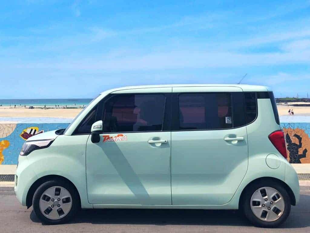 Carro en Jeju