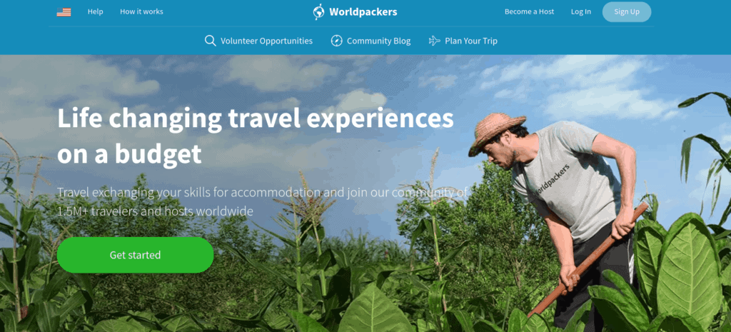 Voluntariados con Worldpackers
