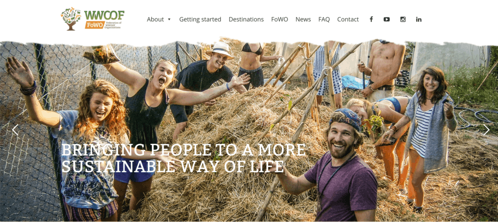 Voluntariados con WWOOF