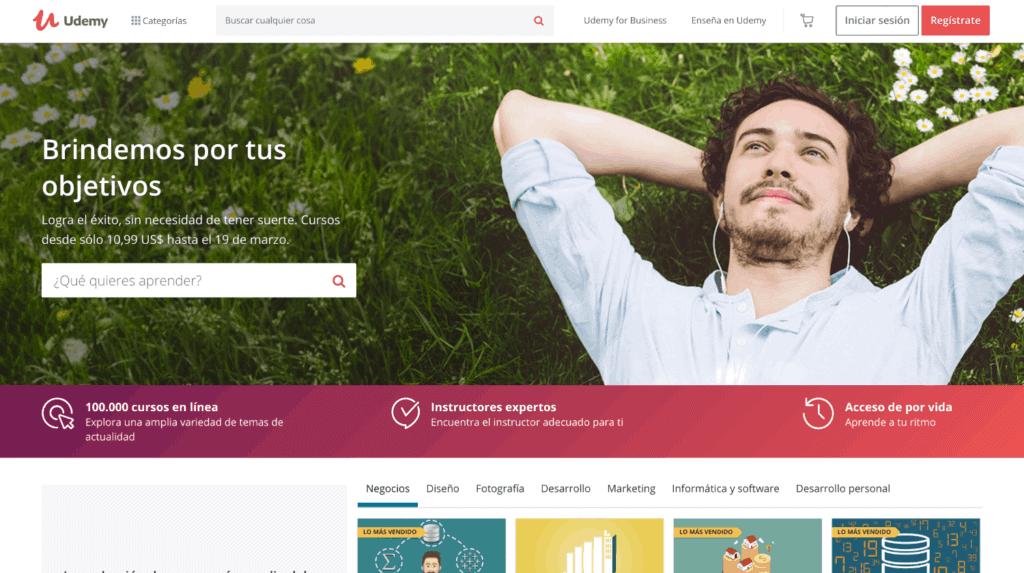 cursos en línea Udemy