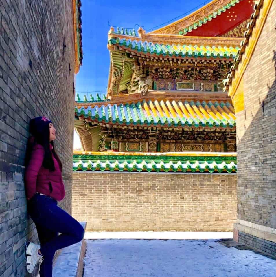 Beca de mandarín en China