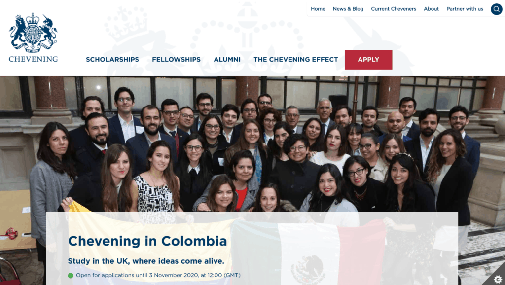 Beca Chevening Colombia