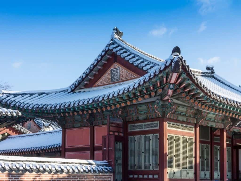 Arquitectura coreana