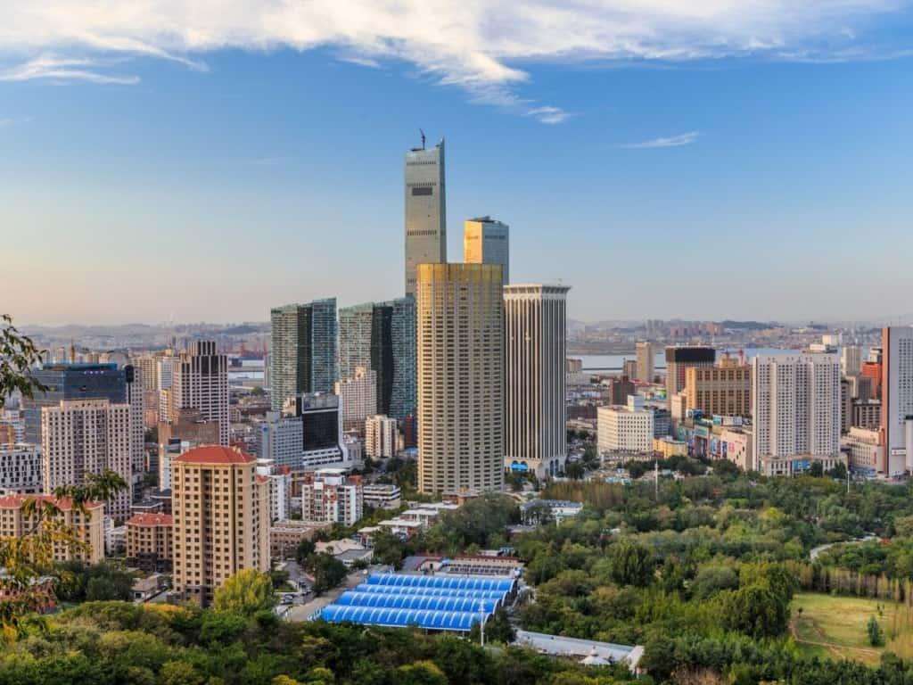 Ciudad de Dalian, China