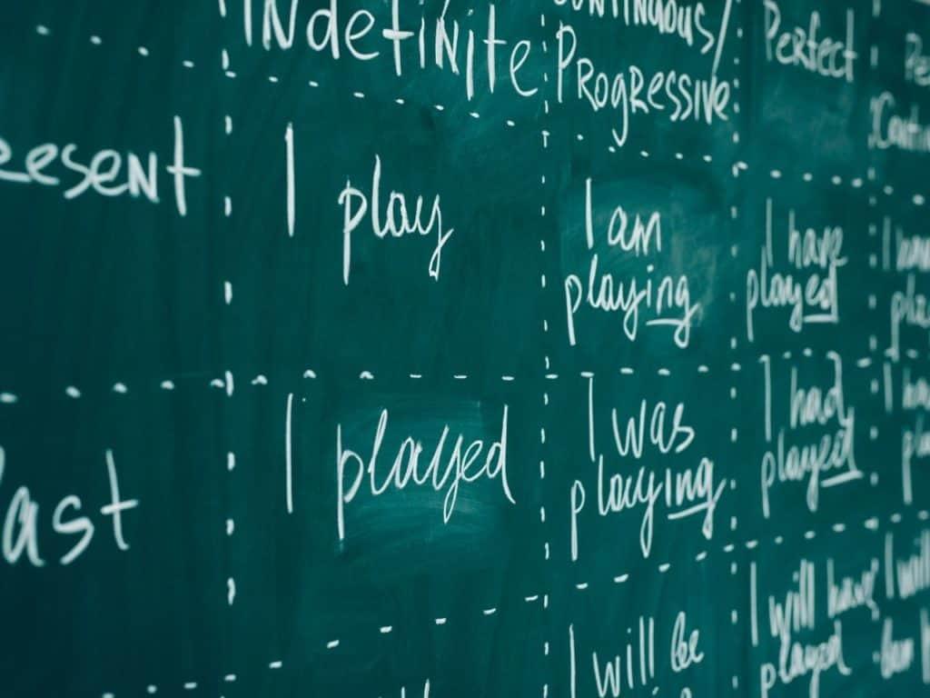 Nivel de idiomas - gramática
