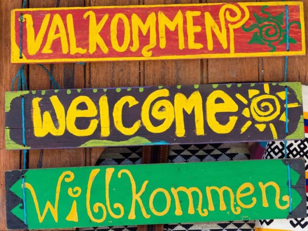 Nivel de idiomas- Welcome
