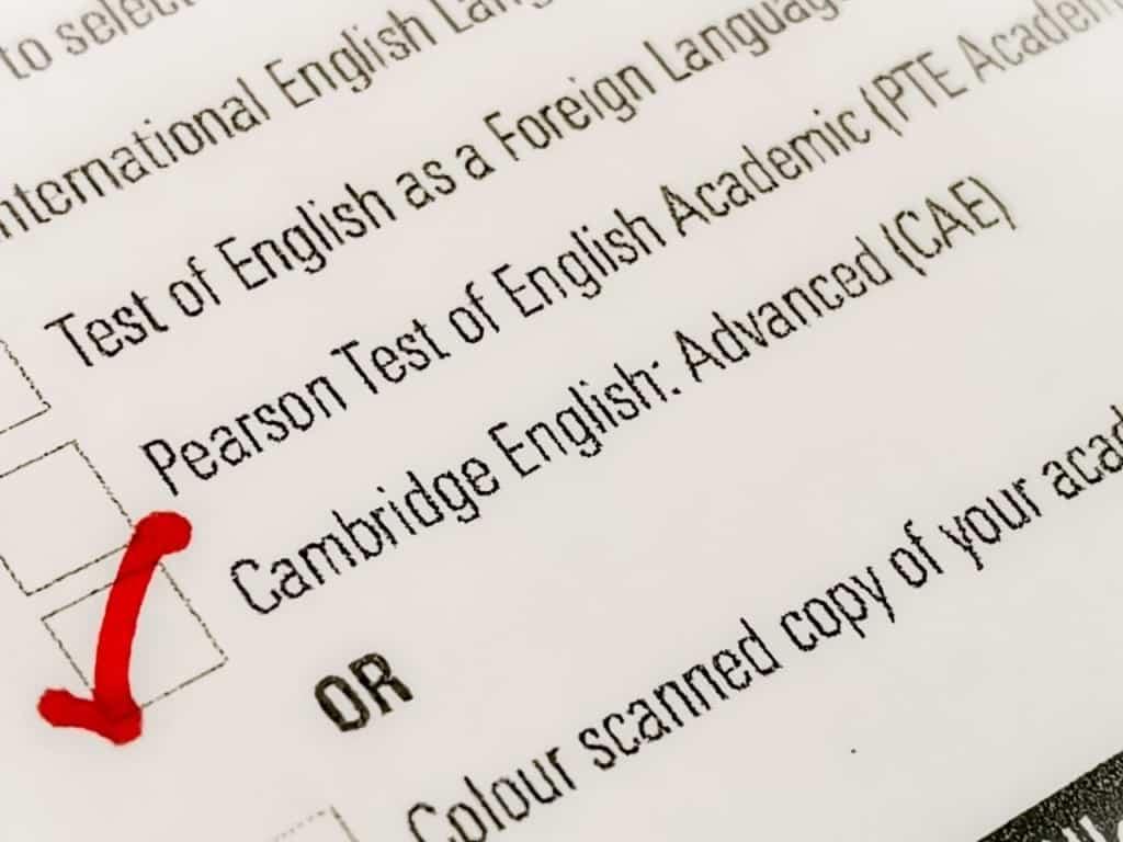 Niveles de inglés Cambridge