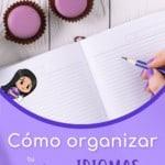 Cómo organizar tu cuaderno de idiomas